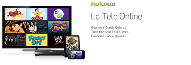Hulu Latino banner