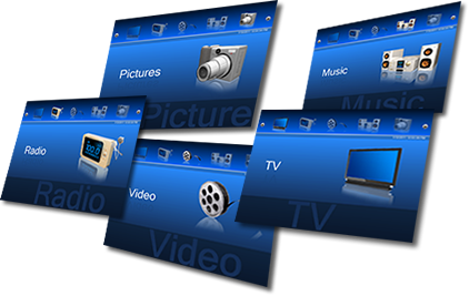Media Center Apps