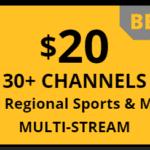 Multi-Stream Sling TV