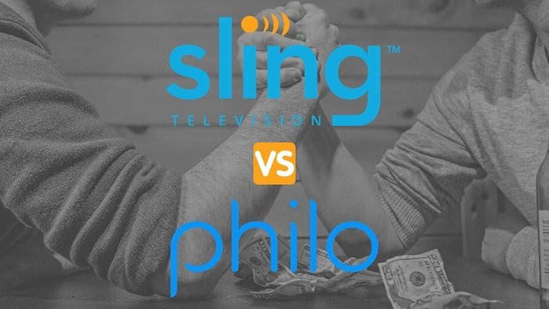 sling tv vs philo