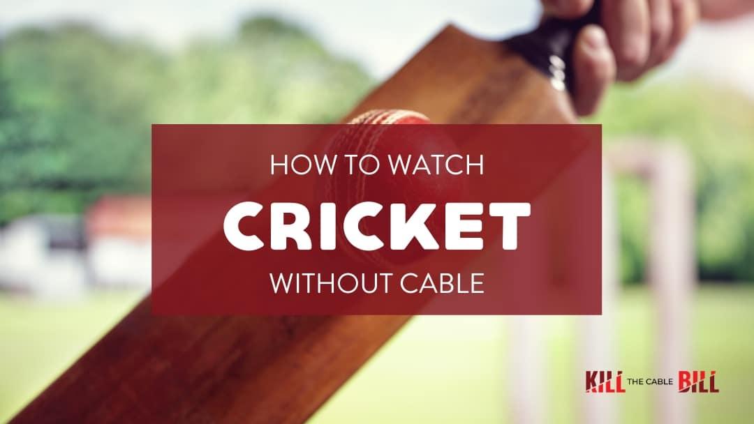 Watch Cricket Online